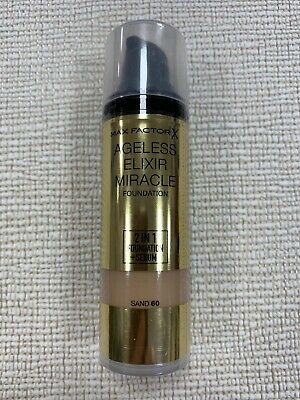 Max Factor Ageless Elixir Miracle Foundation N.60 Sanddiscontinued