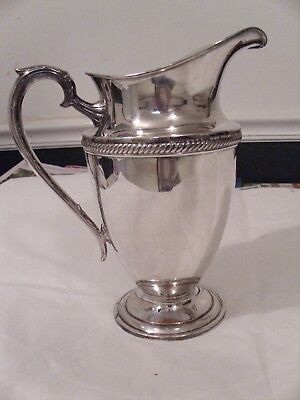Antique Castleton  #685 Two Quart Silver Plated Pitcher