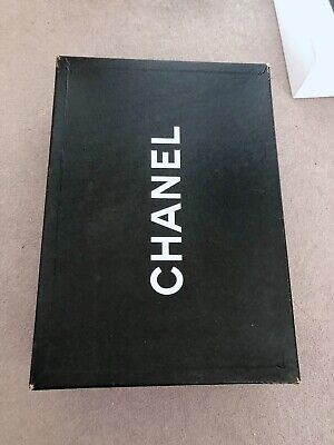 Huge Authentic Chanel Empty Shopping Box Hard Cover 51 x 36 x 15 cm