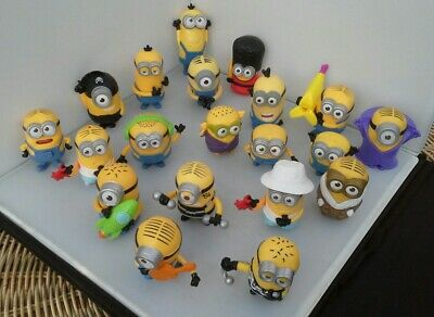 McDonald's despicable me figures