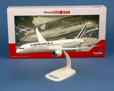 Maquette AIR FRANCE BOEING 787-9 Dreamliner 1/200 En Plastique