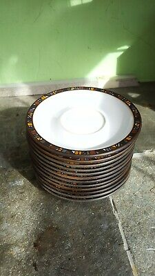 Denby Marrakesh Tea Saucers - First Quality Excellent Condition