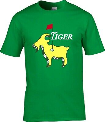 """Tiger Woods The Masters Champion 2019 """"THE GOAT"""" T-Shirt"""