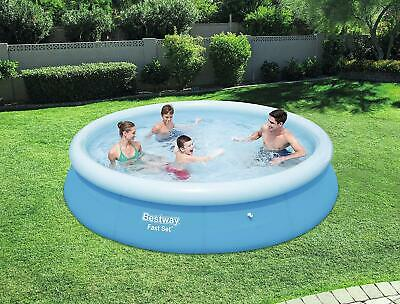 """Bestway 12ft Inflatable Swimming Pool 12' X 30"""" FAST SET PLUS FREE GIFT!"""