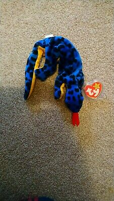 Ty Beanie Baby: Lizzy The Lizard. Perfect Condition. With Tag