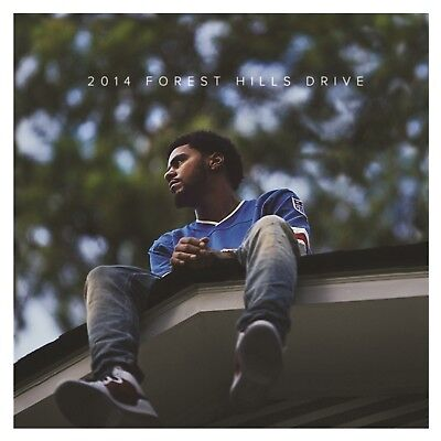 J. Cole - 2014 Forest Hills Drive 2 Vinyl Lp New