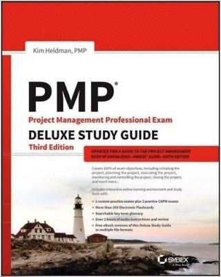 PMP Project Management Professional Exam Deluxe Study Guide to PMBOK 6th Edition
