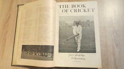 "1899 ""THE BOOK OF CRICKET"" by C B FRY - FOLIO - VERY WELL ILLUS THROUGHOUT"