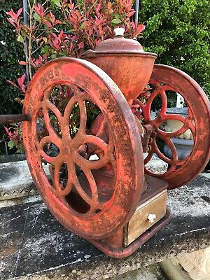 Antique Coffee grinder - Large vintage coffee grinder