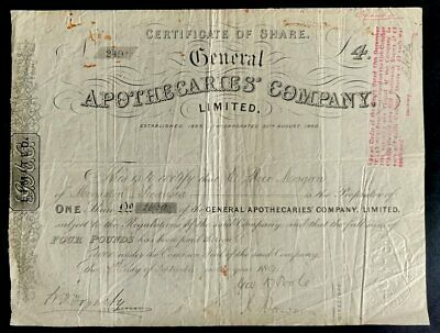 General Apothecaries Company Limited (1894)