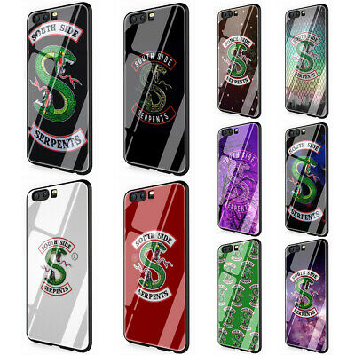 Riverdale South Side Serpents tempered glass TPU case for Huawei Honor Mate P
