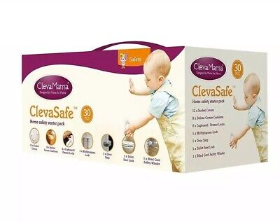 ClevaMama ClevaSafe Home Safety Starter Pack 30 Pieces BNIB