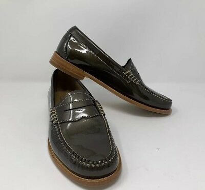 ff87c188f5c Bass   Co Women s Leather Penny Loafer sz 6 M Shoes Weejun Whitney Patent  Green
