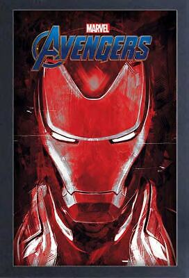 AVENGERS ENDGAME IRON MAN 13x19 FRAMED GELCOAT POSTER MOVIE MARVEL COMIC NEW FUN