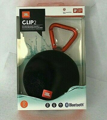 NEW IN BOX JBL Clip 2 Black Portable Speaker System