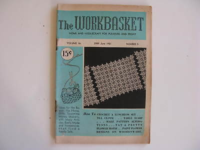 The Workbasket Magazine Vintage, JUNE 1951 Volume #16 #9
