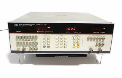 Hewlett Packard 8165A Programmable Signal Source with Option 002