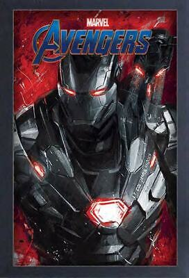 AVENGERS ENDGAME WAR MACHINE 13x19 FRAMED GELCOAT POSTER MOVIE MARVEL COMIC BOOK