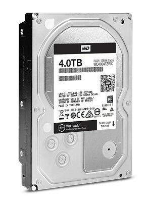 WD4004FZWX WD Black™ 4 TB 3.5-inch Performance Hard Drive