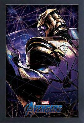 AVENGERS ENDGAME THANOS 13x19 FRAMED GELCOAT POSTER MARVEL MOVIES COMICS NEW FUN