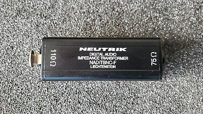 Neutrik AES/EBU Impedance Transformer NADITBNCF