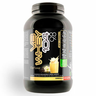 Net Integratori Vb Whey 104 9.8 - Proteine Isolate 1980 Gr  - Vaniglia