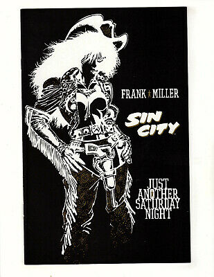 Sin City: Just Another Saturday Night #nn (1998, Dark Horse) VF/NM Frank Miller