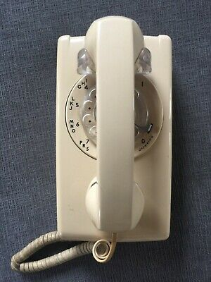 Rare Vintage Original Bell System Western Electric Wall Rotary Telephone Nice