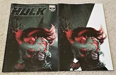 Immortal Hulk 17 Rahzzah Red She-Hulk Exclusive White Virgin Variant 2-Pk Hot!