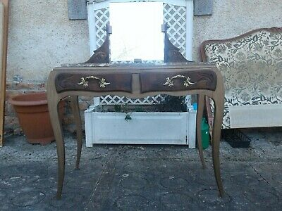 French antique vintage dressing table