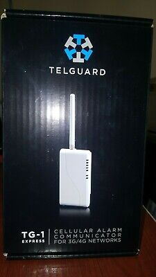 NEW TELGUARD TG-1 Express Cellular Communicator 3G/4G