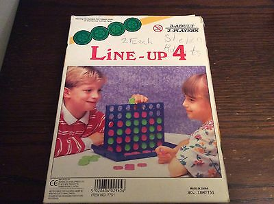 Line Up 4/Connect 4, Travel Game