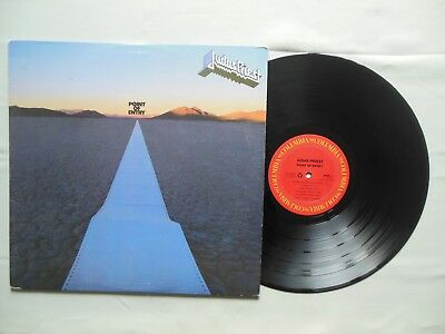 HEAVY METAL from 1981: JUDAS PRIEST - POINT OF ENTRY- FC 37052 1st Edition in NM
