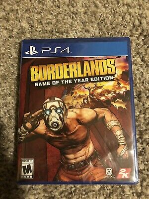 Sealed Borderlands Game of the Year Edition PS4 2019 Physical Edition on Hand