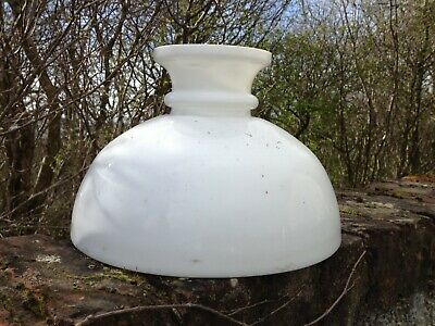 antique oil lamp glass hanging shade.