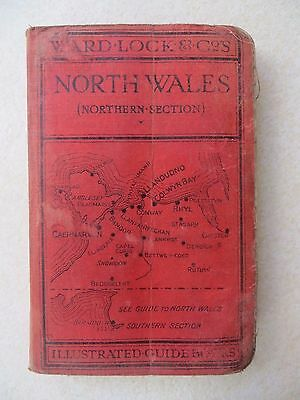 WARD LOCK 'RED GUIDE': NORTH WALES, Northern Section (1937)