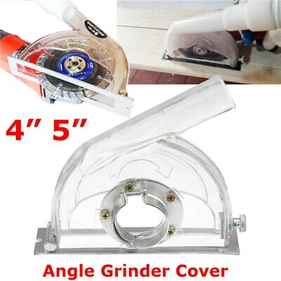 """Angle Grinder Dust Guard Dust Cutting Shroud Hood Cover for Dia 3""""/4""""/5"""" Blades"""