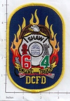 Washington DC - Engine 6 Truck 4 District of Columbia Fire Dept Patch - Shaw