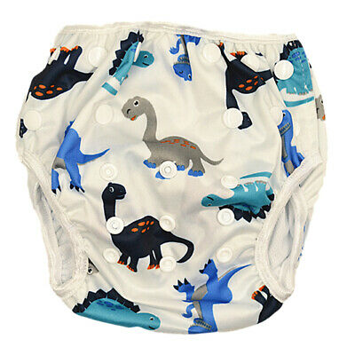 New Washable Reusable Swim Nappy Baby Boy Toddler Diaper Pants Swim Nappies S157