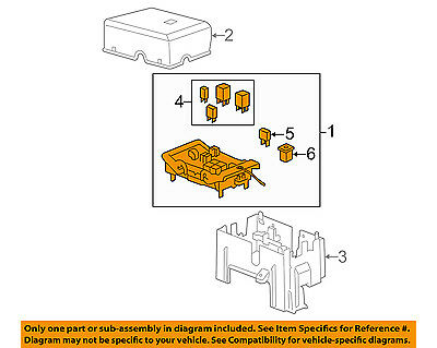 GM OEM Fuse Relay-Junction Block 22798215