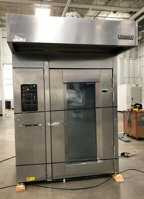 Hobart HBA2G Double Rack Walk In Gas Oven Excellent Conditions!