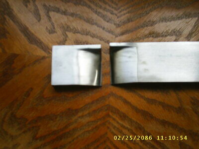 "Blacksmith Guillotine Hot Cut Dies 1/2"" x 2"" made from 4140 Steel"