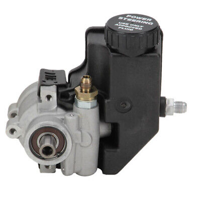 GM High-Flow Lightweight Aluminum Power Steering Pump w/ Reservoir