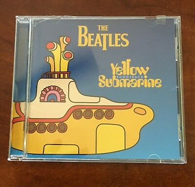 The Beatles Yellow Submarine Sound Track Cd...mint Condition...apple Records
