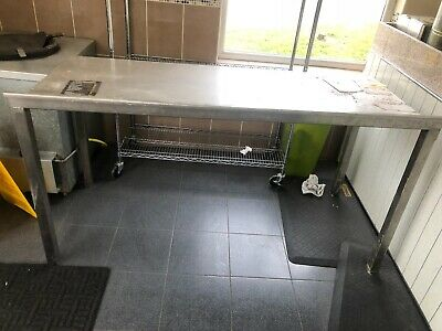 Commercial/catering kitchen stainless steel table/worktop/workbench