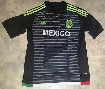 659a1ca8ac3 Javier Hernández Chicharito Mexico Jersey Shirt Large Fedeacion  14 Adidas  Socce
