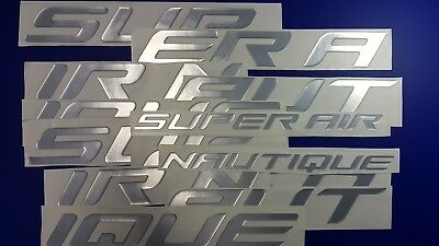 "Super Air Nautique boat Emblem 100"" + FREE FAST delivery DHL express"