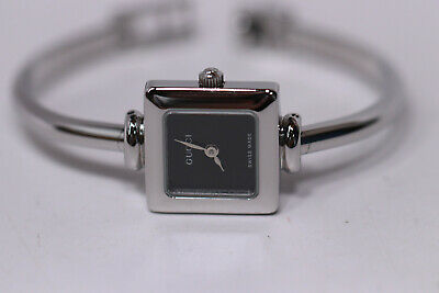 e4cf5c64d Womens gucci 1900l stainless steel bangle bracelet watch swiss stainless  steel