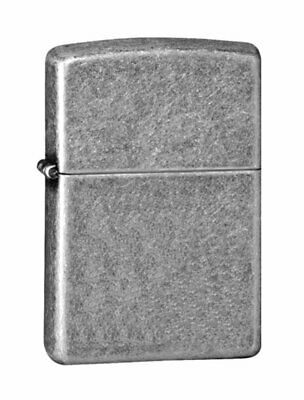 Zippo Armor Antique Silver Plate Lighter, Windproof #28973
