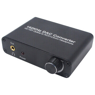 Digital analogico fibra optica SPDIF Coaxial a L/R analogo Audio 5.1 del de Z4D3
